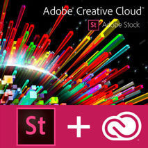 CC for teams - All Apps with Adobe Stock - Multi - Renewal 12 m-ths