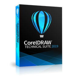 CorelDRAW Technical Suite 2019 Enterprise License (includes 1 Year CorelSure Maintenance)(5-50)